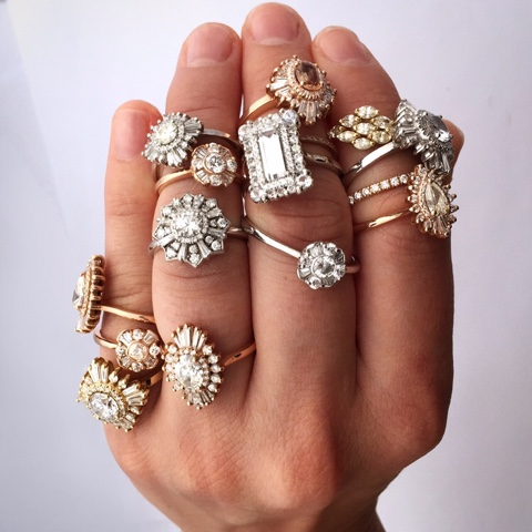 Laced in Weddings Current Engagement Ring Obsession