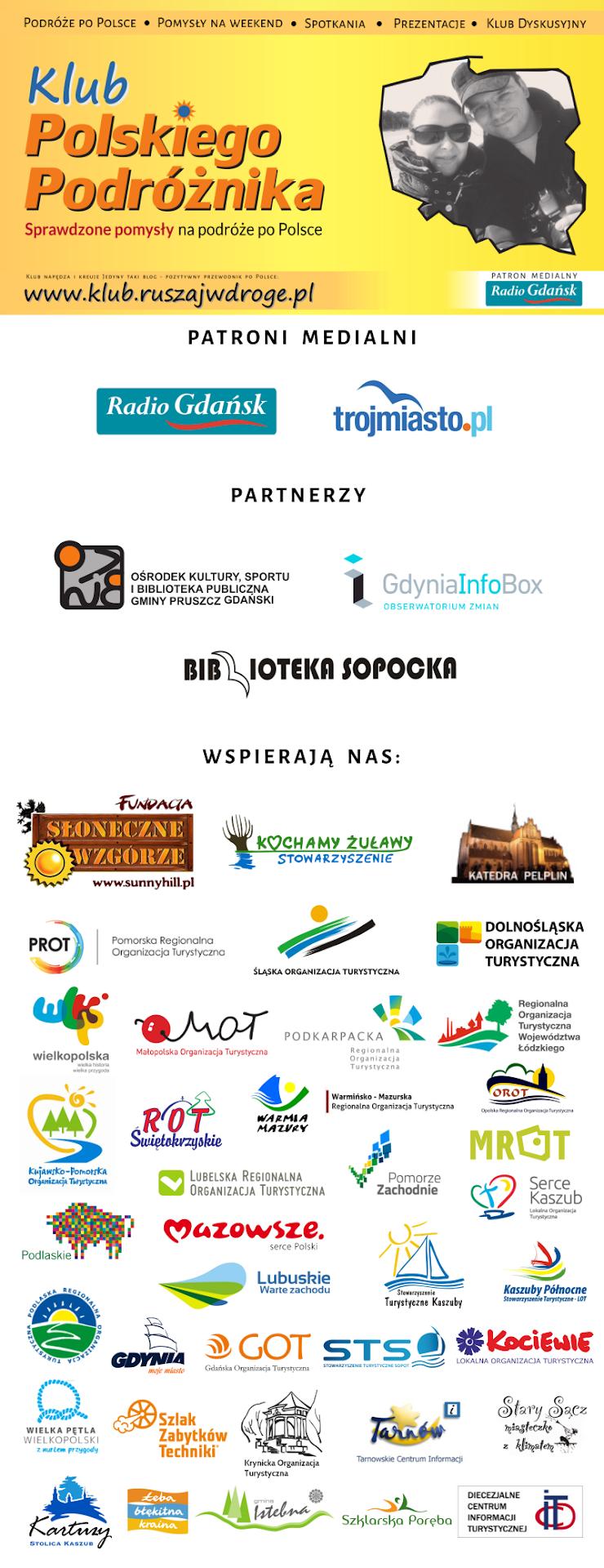 Klub Polskiego Podróżnika wspierają