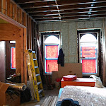 3rd St -Brooklyn - Passive House Brownstone - In Progress (Insulation)