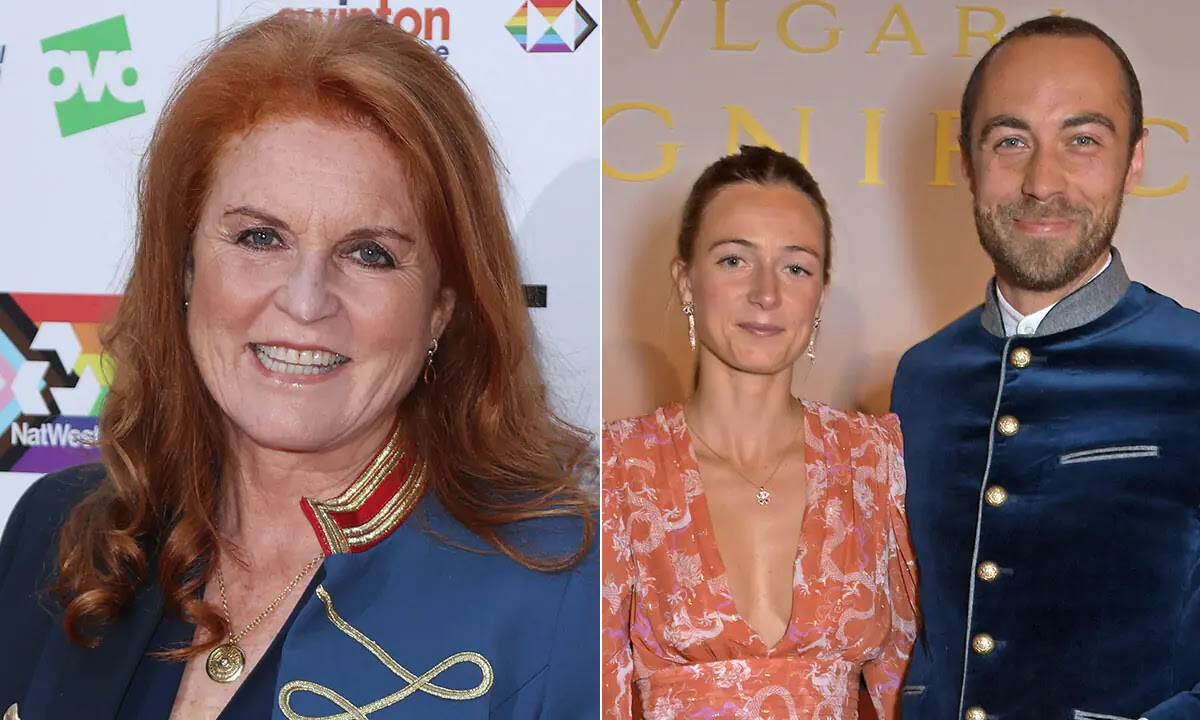 Sarah Ferguson and Edoardo Mapelli Mozzi react to James Middleton's Wedding Joy