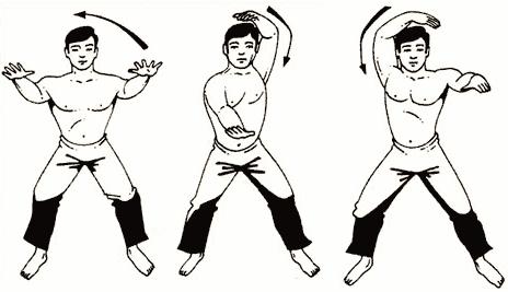Упражнение № 4 – «Рука-змея»