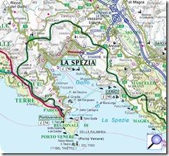 cartina GOLFO DEI POETI
