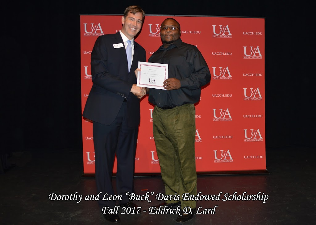 Fall 2017 Foundation Scholarship Ceremony - Dorothy%2Band%2BLeon%2B-Buck-%2BDavis.jpg