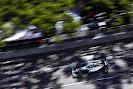 Nico Rosberg racing his Mercedes W05