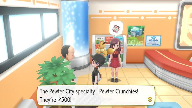 Pokémon Let's Go Pikachu & Eevee - Pewter Crunchies