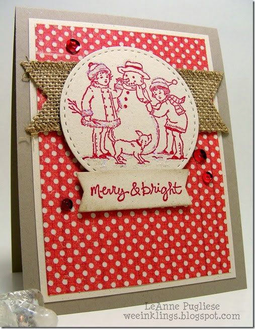 LeAnne Pugliese WeeInklings Winter is Calling Stampin Up Christmas