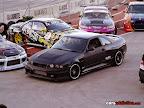 Black Drift Nissan Skyline R33