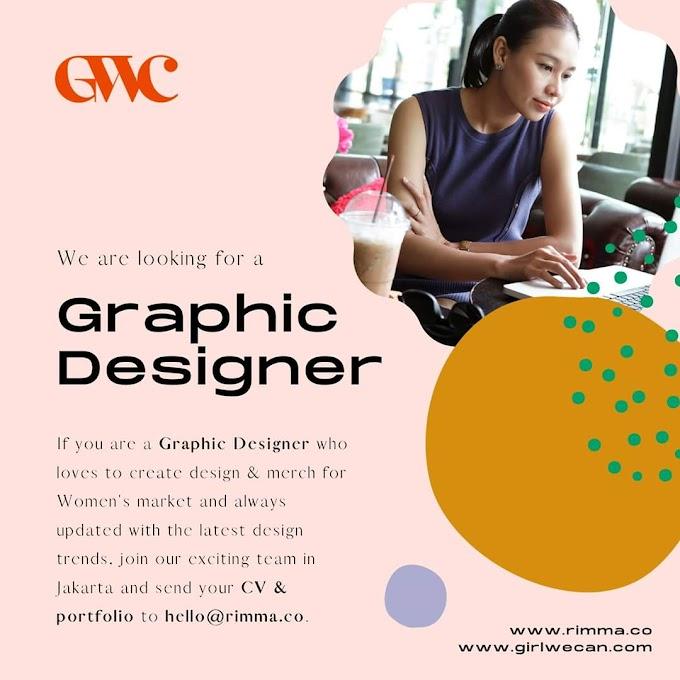 Lowongan Graphic Designer dan Social Media Rimma