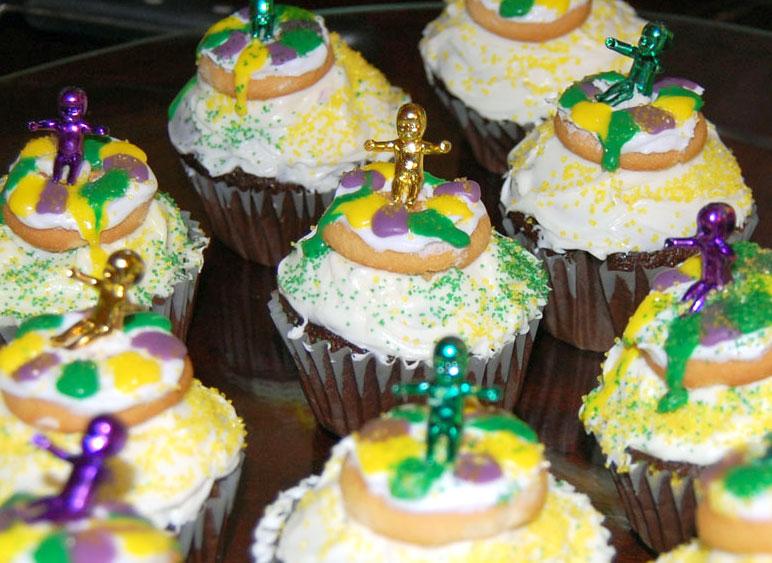 ... mardi gras cupcake ideas mardi gras cupcake toppers striped mardi gras