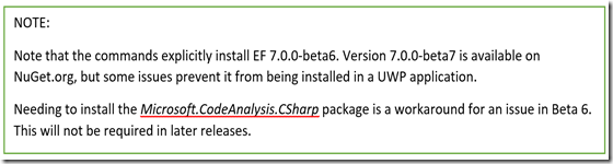 Medhat Elmasry: Using SQLite with Windows 10 UWP & EF7