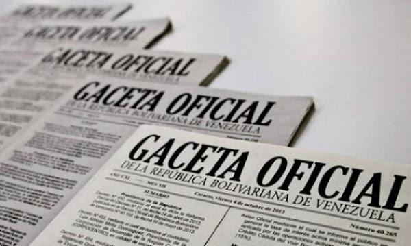 Gaceta Oficial Dias Laborables para Trabajadores Publicos