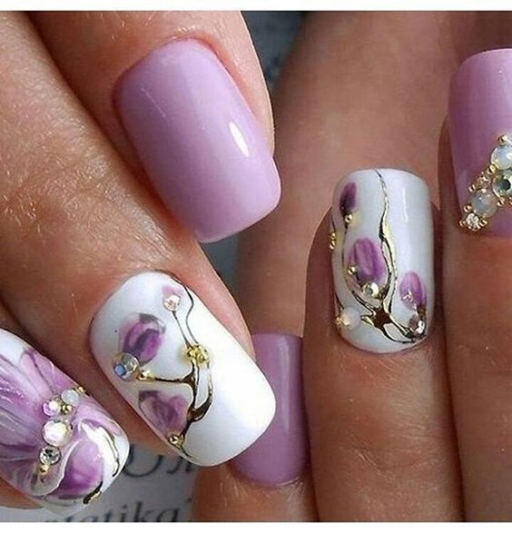 Top Nail Art Designs for Spring 2018