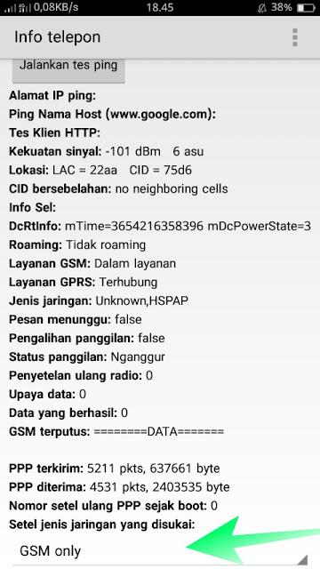 Cara Setting Sinyal 4G LTE Android Dengan Kode Rahasia