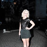 WWW.ENTSIMAGES.COM -  Kimberly Wyatt    at Giles Deacon and Guests celebrate 40 years of Molton Brown Blending with attitude since 1973 at ICA Carlton House Terrace Londo April 17th 2013.   Photo Mobis Photos/OIC 0203 174 1069