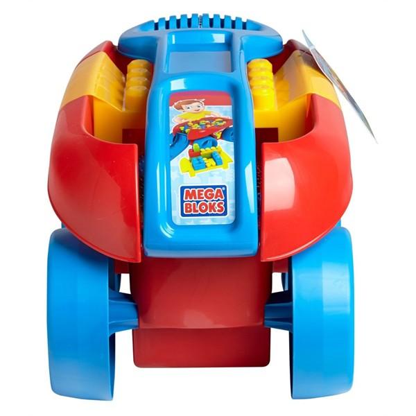 Xe kéo đồ chơi xếp hình khối Mega Bloks CND87