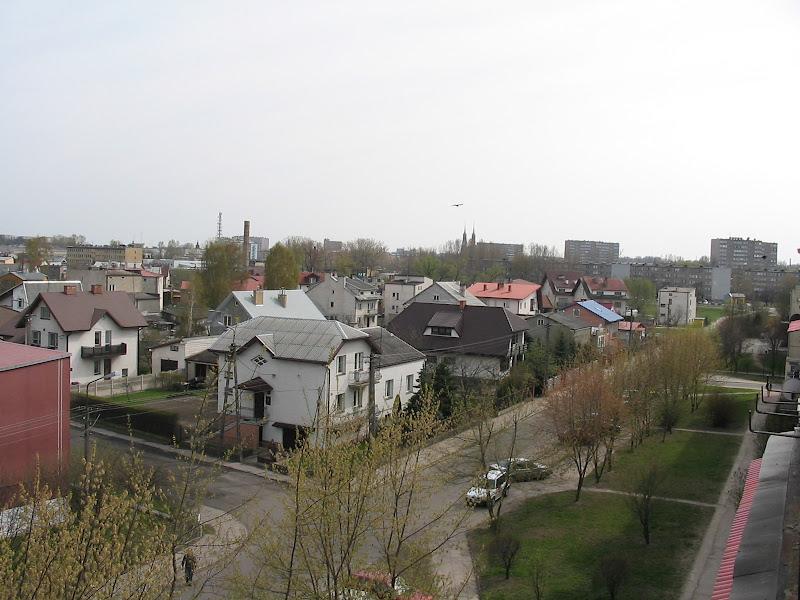 Widok ogólny z balkonu