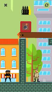 Bullet Agent - Fighting relaxing hyper casual game - Screenshot