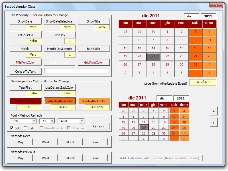 Calendar Control for All Office versions - including Office 2016 64 bit