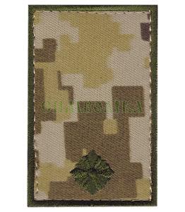Погон ДПС Молодший лейтенант /тк.NDU/ 70х45мм