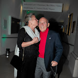 WWW.ENTSIMAGES.COM - Lady Susie Moss and Sir Stirling Moss loving tender moment   at    Motor Sport Hall Of Fame at Royal Opera House Covent Garden London February 25th 2013                                                    Photo Mobis Photos/OIC 0203 174 1069