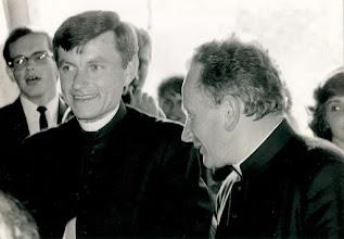Photo: Ks. Jan Czuba z Ks. Proboszczem Stanisławem Chrzanem