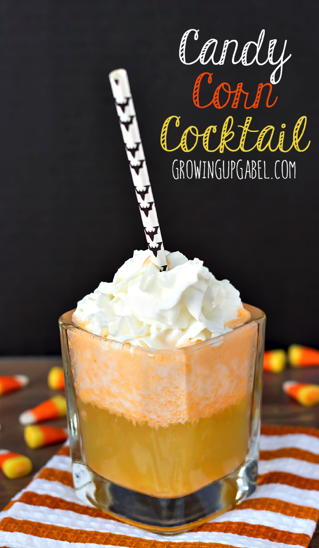 Candy Corn Cocktail from Growing Up Gabel