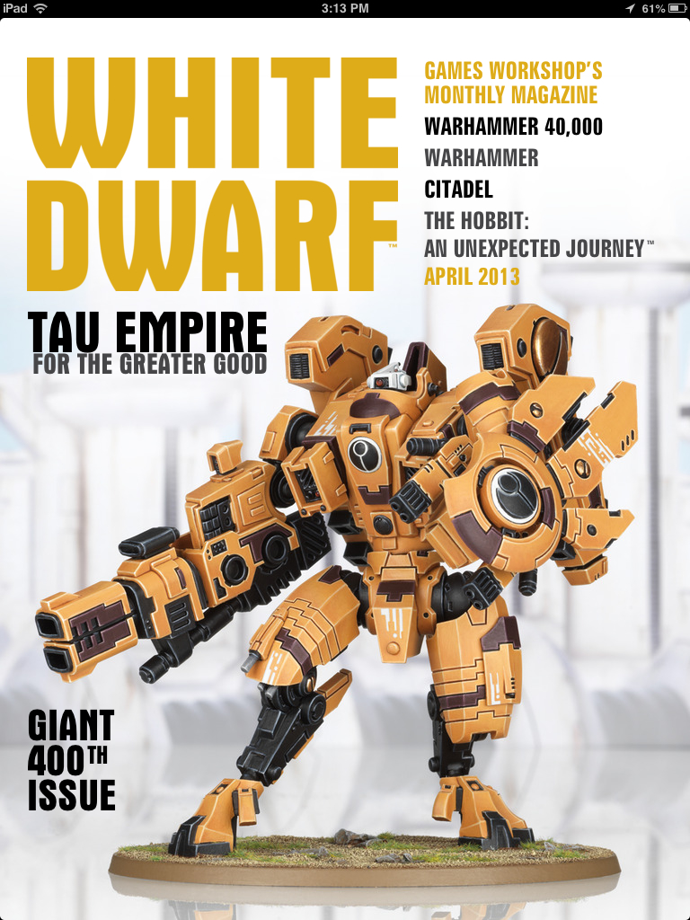 Heaven's Teeth: White Dwarf for iPad Review