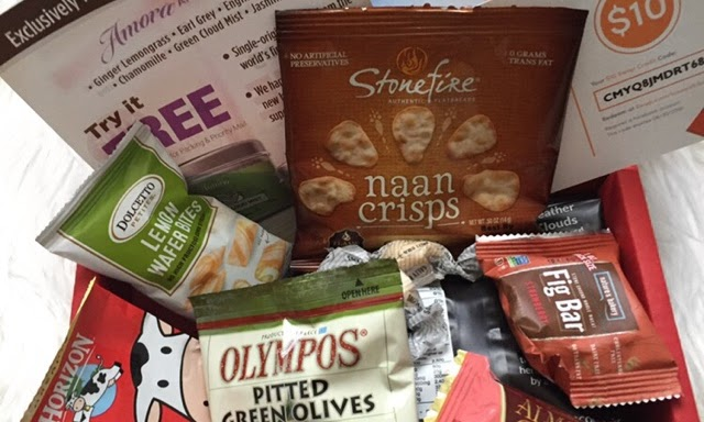 Love with food box ( Organic/ All Natural Snacks )| Review