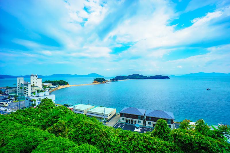 小豆島 エンジェルロード ニュー観海本館 天空ホテル海廬 6