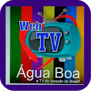 Logo TV Água Boa
