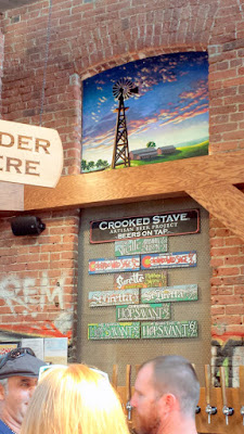 Crooked Stave tasting room, located in Denver's RiNo in The Source building