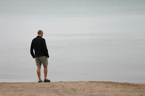 Joe at Lake Huron