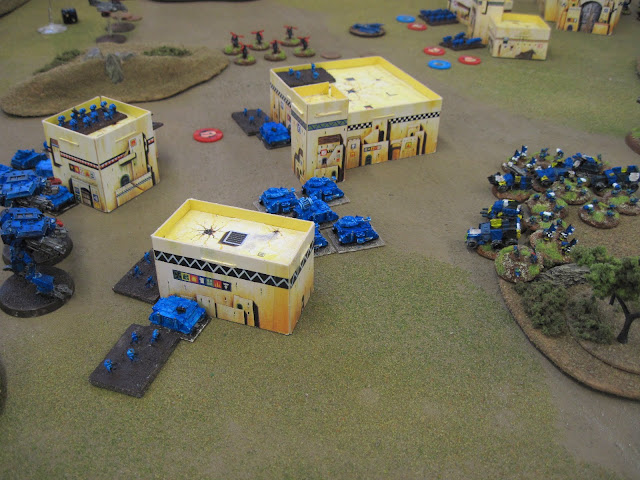 Armies clash.