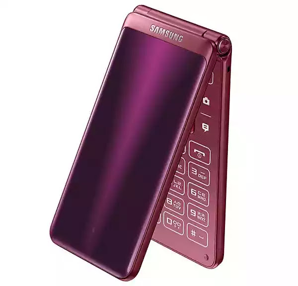 Samsung Has Just Released A Flip Android Smartphone 3
