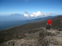 Kili Climb Day 4 - Amazing views