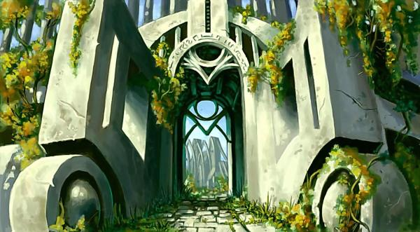 Gates Of Ancient Temple, Magical Landscapes 2