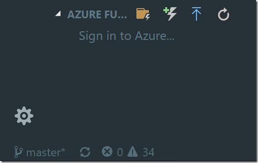 AzureFuncButton
