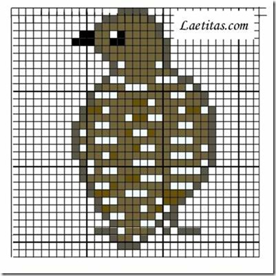 punto de cruz animales aves  (7)