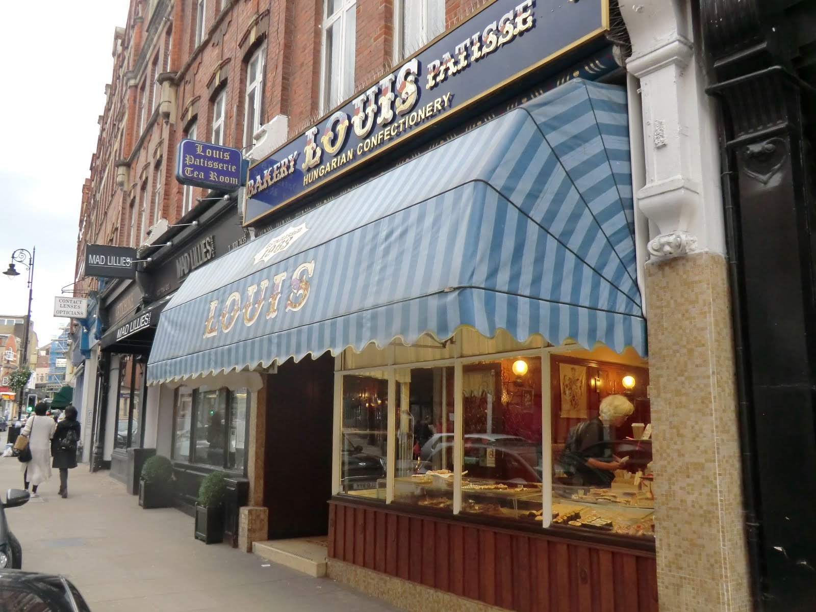 CIMG0623 Louis Patisserie & Tea Room, Hampstead