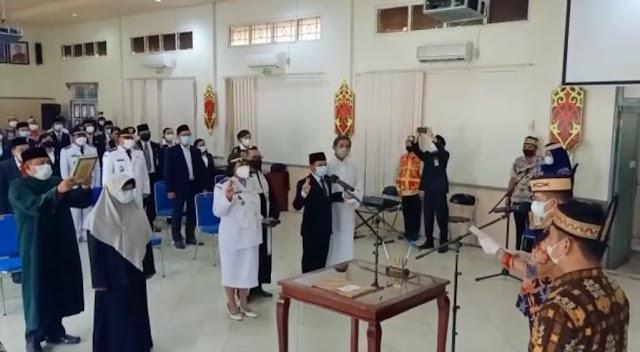 Bupati Ben Lantik 34 Pejabat Administrator dan Pengawas Lingkup Pemkab Kapuas