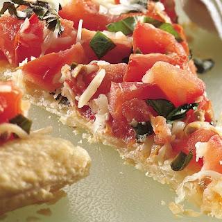 Bruschetta Appetizer Tart.