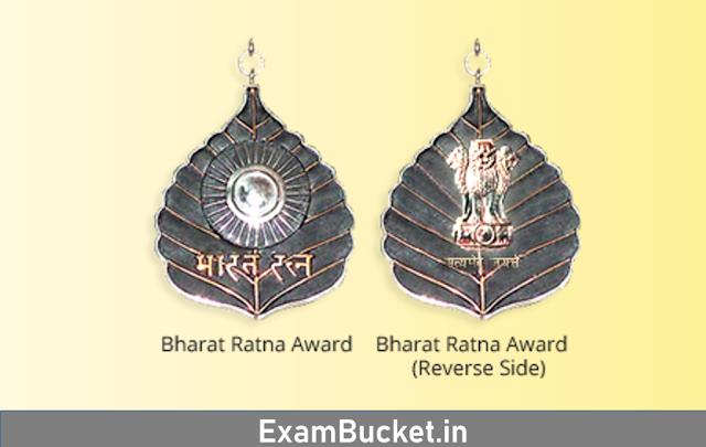 Bharatratna Award Winners List