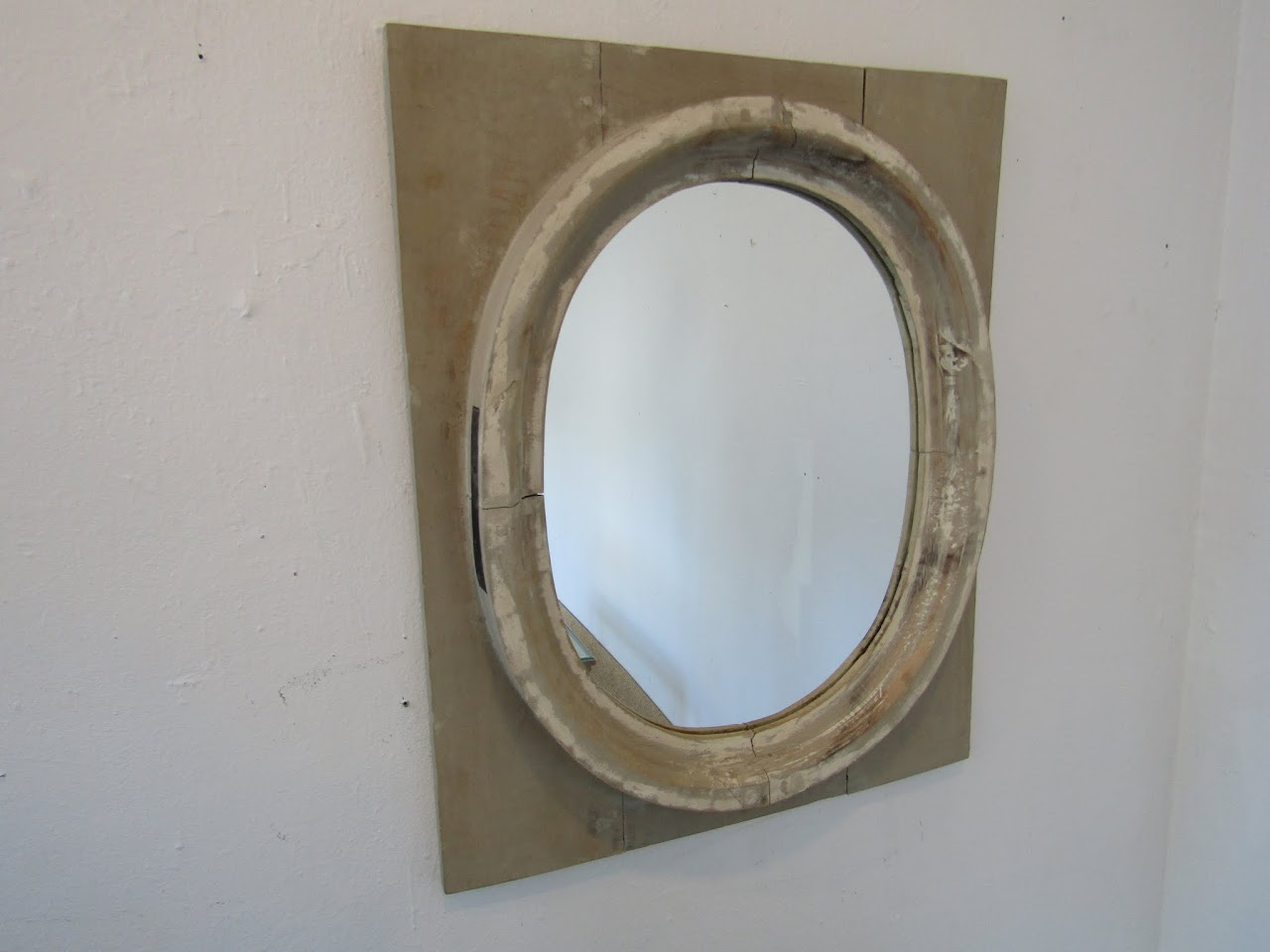 St. Remy Wooden Framed Mirror 1
