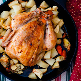Orange and Rosemary Skillet Roast Chicken | Cooking Basics