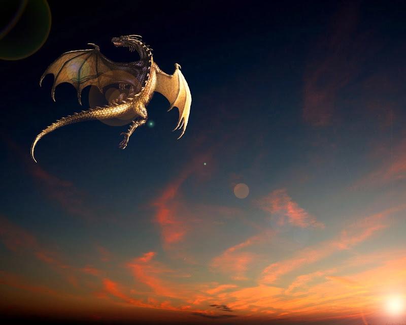 Fantasy Dragon Flight, Dragons