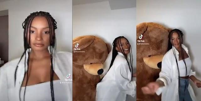 Billionaire Daughter, Temi Otedola Sets TikTok Ablaze With Her First Video