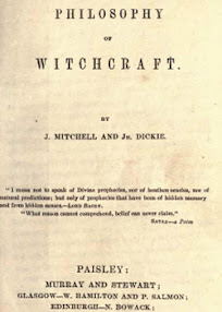 Cover of John Mitchell's Book The Philosophy of Witchcraft