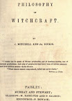 The Philosophy of Witchcraft