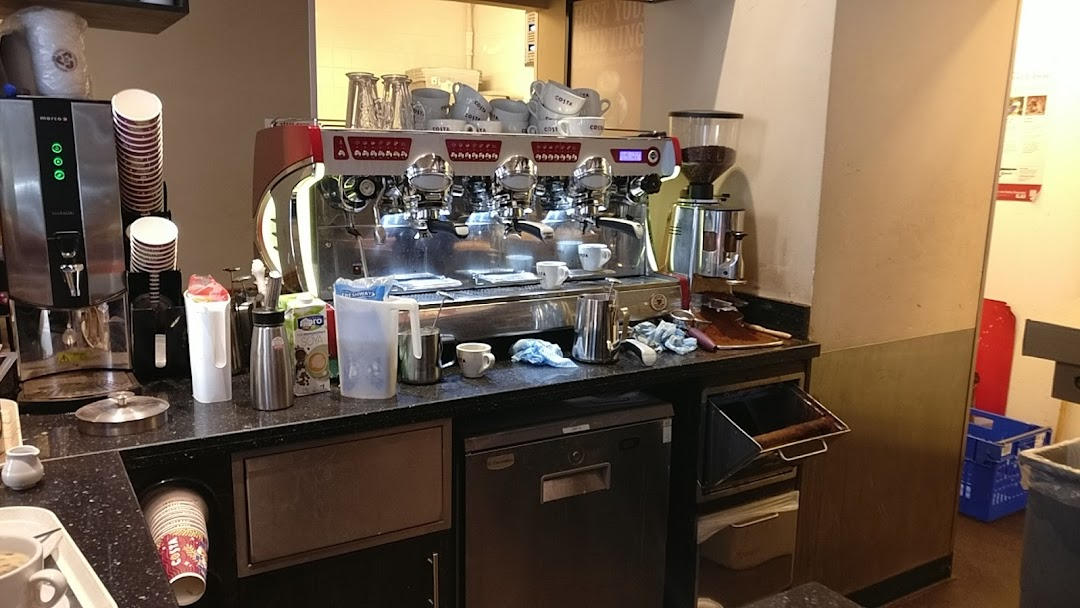Costa Coffee Birmingham Drive Thru Coffee Shop