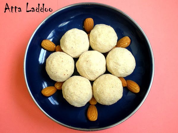 Atta Laddoo Recipe